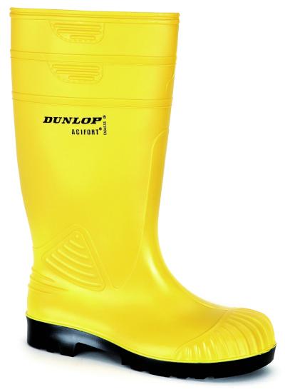 Pracovní obuv - pracovní holínky DUNLOP ACIFORT HD YELLOW S5 - 3373