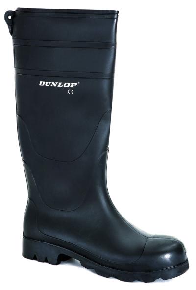 Pracovní obuv - pracovní holínky DUNLOP UNIVERSAL BLACK - 3671