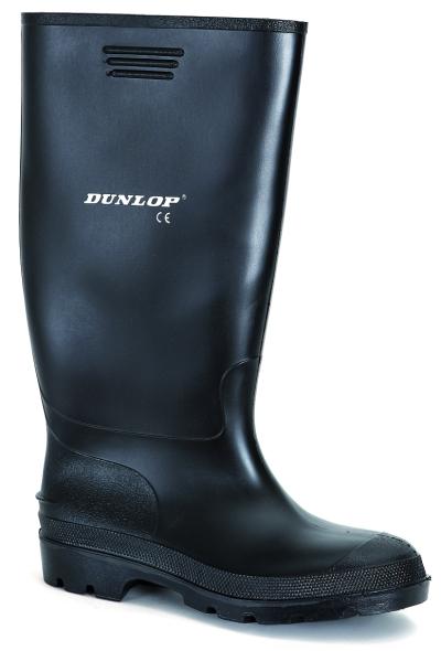 Pracovní obuv - pracovní holínky DUNLOP PRICEMASTOR BLACK - 3672