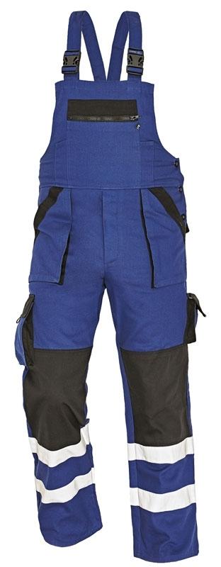 Montérkové kalhoty s laclem - pracovní kalhoty lacl MAX REFLEX - O202064
