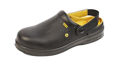 Pracovní obuv RAVEN - pracovní obuv sandál RAVEN MF ESD CLOG SB SRC černá - B300361
