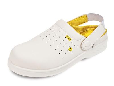 Pracovní obuv RAVEN - pracovní obuv sandál RAVEN MF ESD CLOG SB SRC bílá - B300362