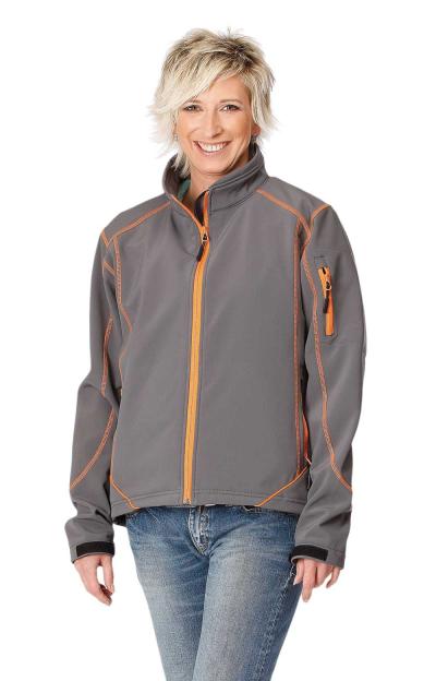 Dámské pracovní oděvy - pracovní bunda GNUX softshell dámská - O200045