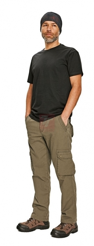 Zateplené zimní pracovní kalhoty - pracovní kalhoty RAHAN - O202091