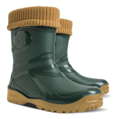 Zateplená zimní pracovní obuv - pracovní holínky dámské DEMAR YONG FUR - B300111