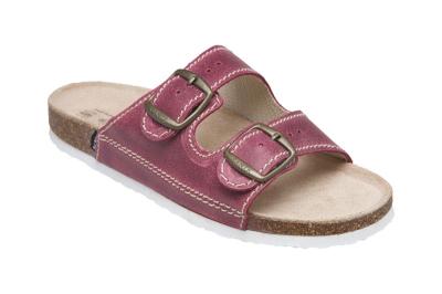 Zdravotní pracovní obuv (bílá) - pracovní pantofel dámský SANTÉ - 3778