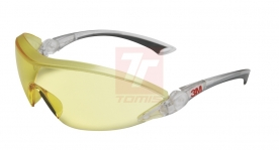 Ochrana zraku - ochranné brýle 3M 284 žluté - 4439