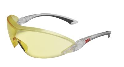 Ochranné pracovní brýle - ochranné brýle 3M 284 žluté - 4439