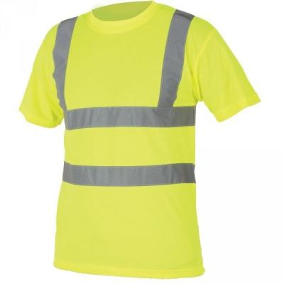 Reflexní pracovní oděvy pro cestáře - pracovní tričko HI-VIZ S478 - O201102