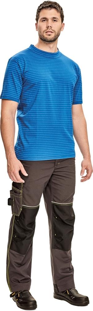Antistatické oděvy pro elektrikáře - pracovní tričko EDGE ESD - 2963