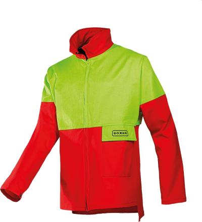 Neprořezné pracovní oděvy do lesa - pracovní bunda protipořezová SIOEN SIP 1XSK - O202567