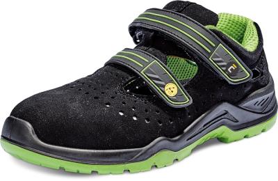 Pracovní obuv - pracovní obuv HALWILL MF ESD S1P SRC SANDÁL - B300556