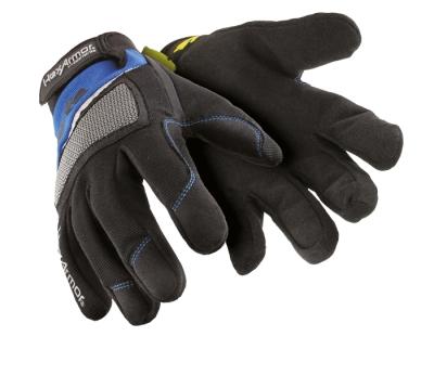 Dřevorubecké a lesnické oblečení - pracovní rukavice MECHANIC´S 4018 vel. 6 -10 - 1408