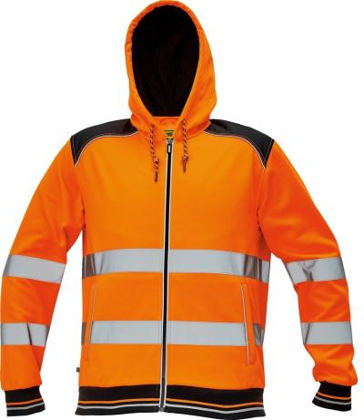 Pracovní mikiny a svetry - pracovní mikina KNOXFIELD HI-VIS - O202509