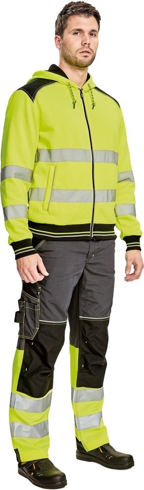 Pracovní pánská mikina KNOXFIELD HI-VIS - O202509