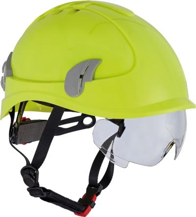 Ochrana hlavy - ochranná přilba ALPINWORKER HI-VIS - P400653