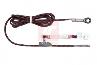 Ochrana proti pádu z výšky - zajišťovací souprava PFAAC 032 10L2 - LANOSTOP 10m -  4646