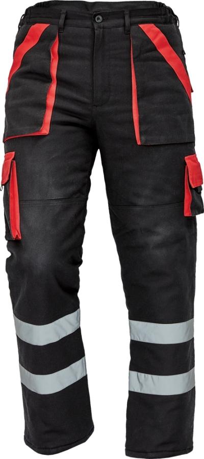 Montérky ze 100% bavlny - pracovní kalhoty MAX WINTER REFLEX - O202545