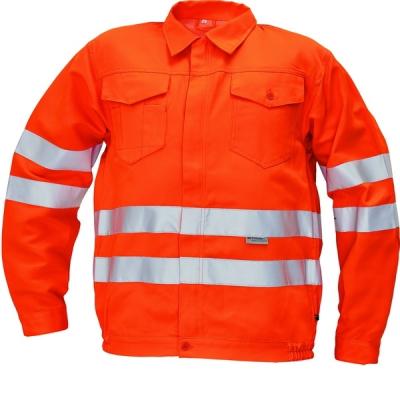 Reflexní pracovní oděvy pro cestáře - pracovní bunda KOROS - 2740