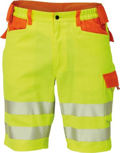 Reflexní pracovní kalhoty - pracovní šortky LATTON - O202560