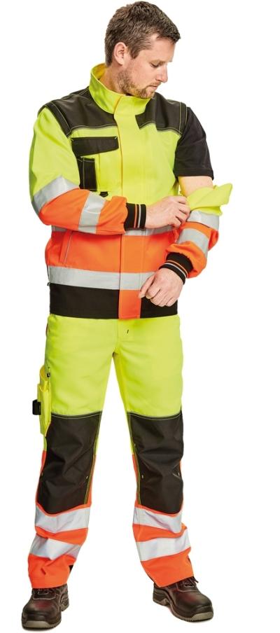 pracovní bunda KNOXFIELD HI-VIS - O202505