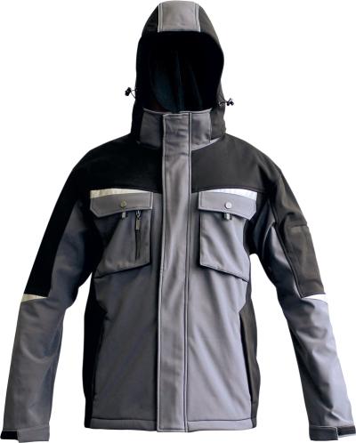 pracovní bunda softshellová s kapucí ALLYN - O202534