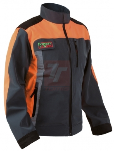 Neprořezné pracovní oděvy do lesa - pracovní bunda protipořezová FOREST PROFI  STRECH - O202569