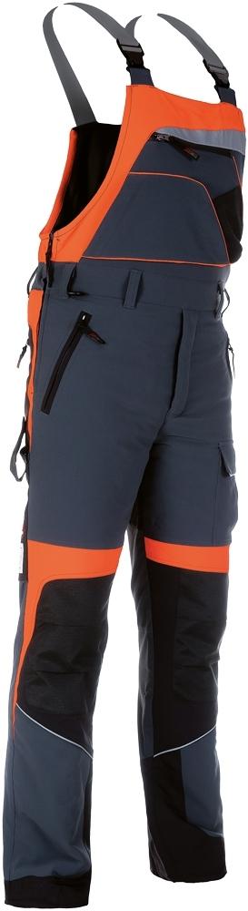 Neprořezné pracovní oděvy do lesa - pracovní kalhoty lacl protipořezové FOREST PROFI STRECH - O202573