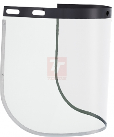 Ochrana hlavy, ochanné přilby - štít VISIGUARD VISOR PC - 4703