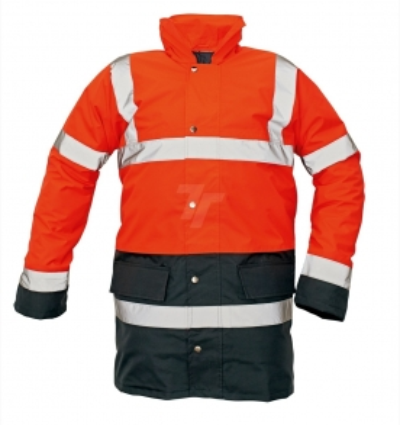 Reflexní pracovní oděvy pro cestáře - pracovní bunda SEFTON - O201144