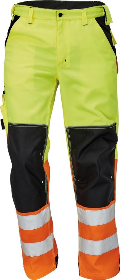 montérková kolekce KNOXFIELD - pracovní kalhoty KNOXFIELD HI-VIS - O202499