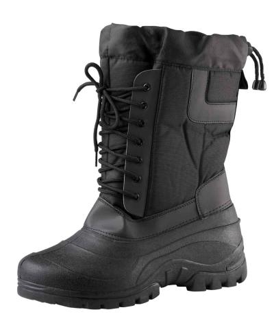 Zateplená zimní pracovní obuv - pracovní holínky HIROLA - 3428
