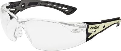 Ochranné pracovní brýle Bollé - ochranné brýle RUSH + GLOW čiré - P400727