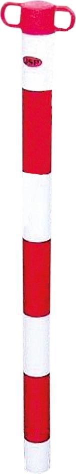 silniční bariéry, pásky - sloupky pro uchycení řetězu - P400123