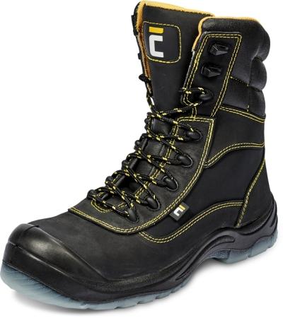 Vysoká holeňová pracovní obuv - pracovní obuv BK TPU MF S3 SRC poloholeňová - B300744