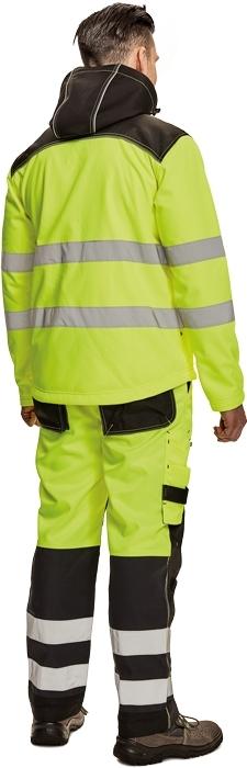 pracovní bunda softshellová KNOXFIELD HI-VIS - O202988