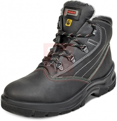 ESD obuv - pracovní obuv IDRA ESD S1P SRC kotník - B300719