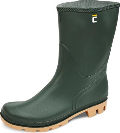Pracovní obuv - pracovní holínky TRONCHETTO OB SRA zelené - 3492