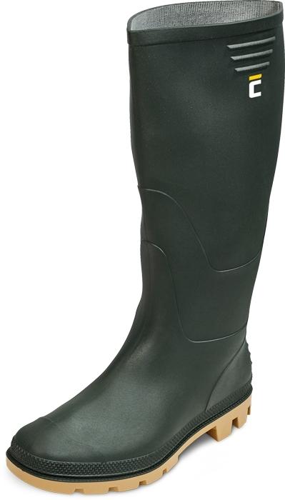 Pracovní obuv - pracovní holínky GINOCCHIO zelené - 3451