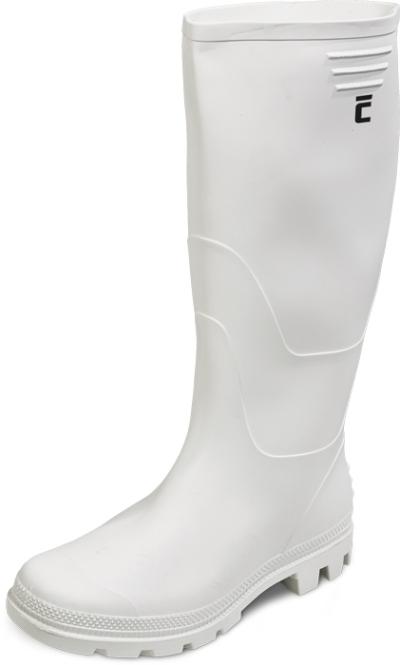 Pracovní obuv - pracovní holínky GINOCCHIO bílé - 3467