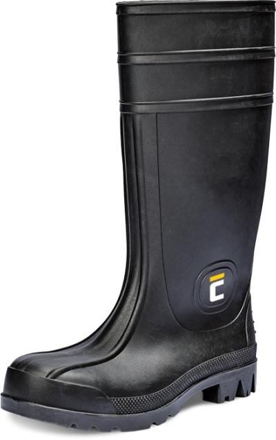Pracovní obuv - pracovní holinky BC SAFETY S5 SRC, černá - B300632