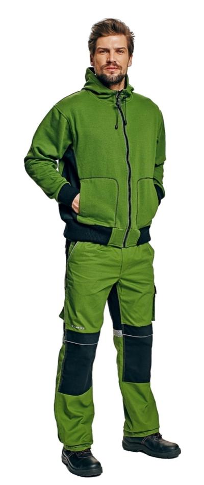 pracovní mikina s kapucí STANMORE - V000039