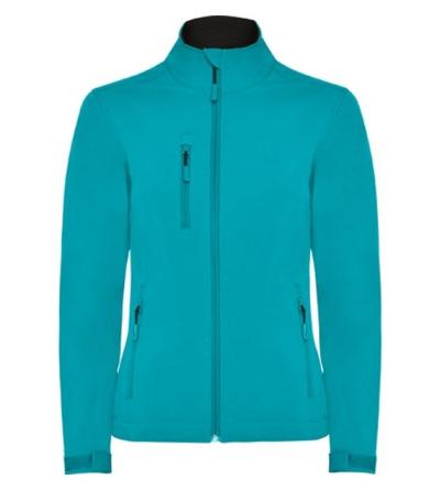 Dámské pracovní oděvy - pracovní bunda softshellová dámská NEBRASKA - O203263
