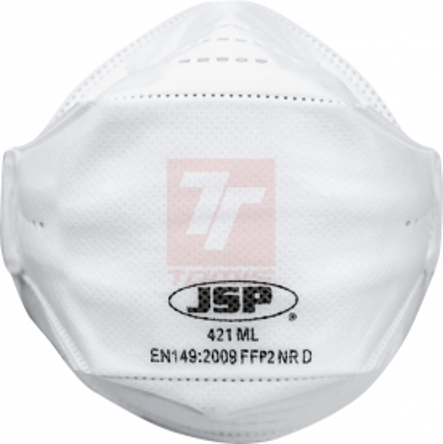 Ochrana dechu třídy FFP2 - Respirátor JSP SringFit 421 FFP2 NR D - P400754
