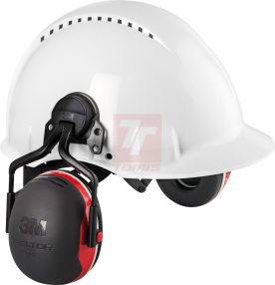 Pracovní oděvy Peltor - mušlový chránič 3M PELTOR X3P5E-RD 32 dB - P400649