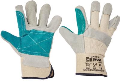 Kombinované pracovní rukavice - pracovní rukavice MAGPIE vel. 10 - 1007
