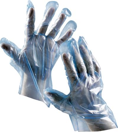 pracovní rukavice DUCK BLUE (500ks/bal) - 1537