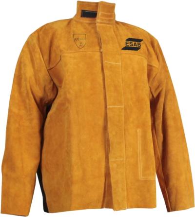 Ohnivzdorné - nehořlavé pracovní oděvy a pomůcky - pracovní bunda svařovací ESAB kůže/záda proban - O203617