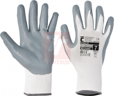 Ochranné pomůcky, oděvy a obuv pro řemeslníky - pracovní rukavice BABBLER - 1195