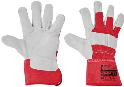 Kombinované pracovní rukavice - pracovní rukavice EIDER - 1106